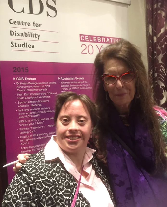 Kylie at the Centre of Disability Studies